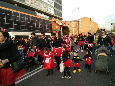 Desfile de Carnaval 2018.