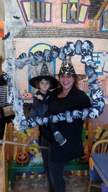 Fiesta de Halloween. EI. Vickie.